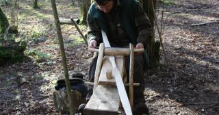 Carving a bow