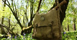 buckskin haversack in action